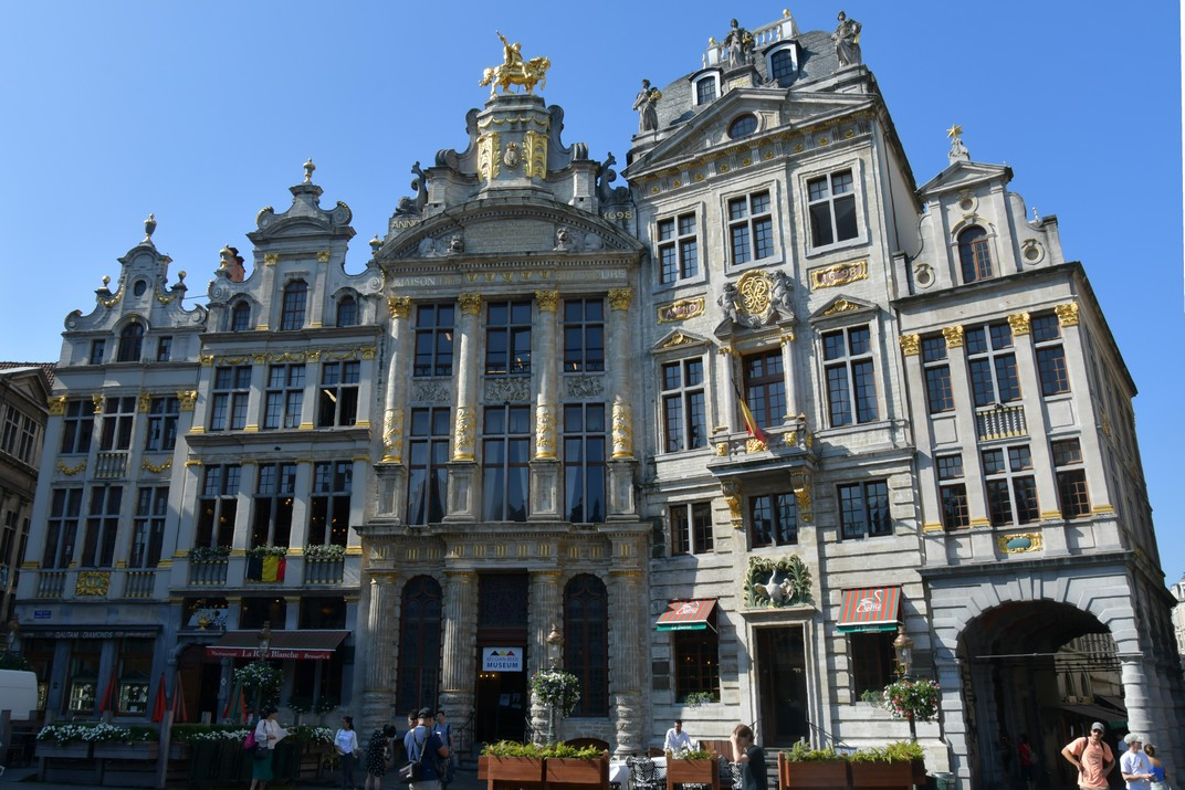Cases del costat sud de la Gran Plaça de Brussel·les