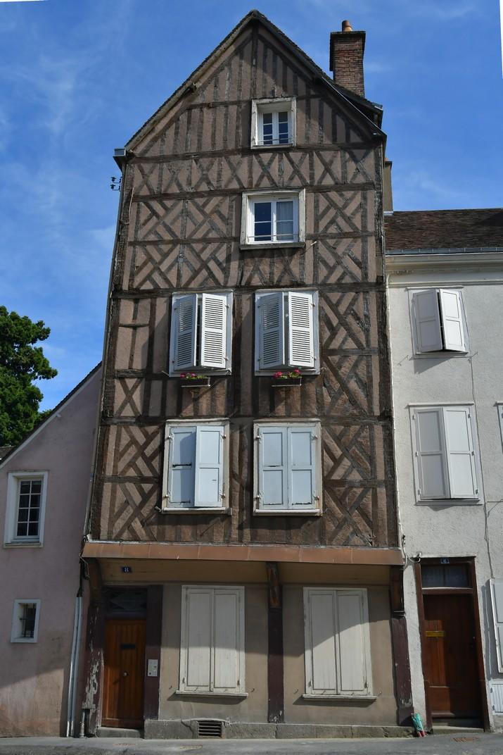 Cases d'entramat de fusta de Chartres
