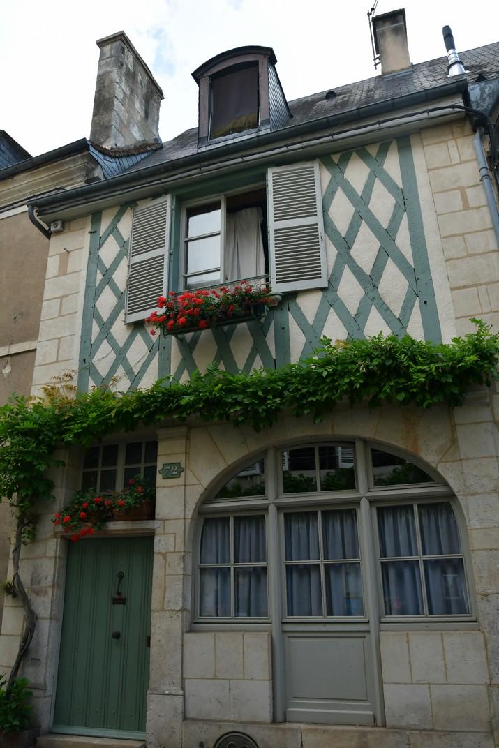 Cases d'entramat de fusta del carrer Bourbonnoux de Bourges