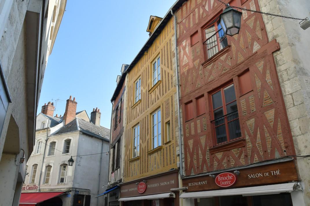 Cases d'entramat de fusta del Centre històric d'Orleans