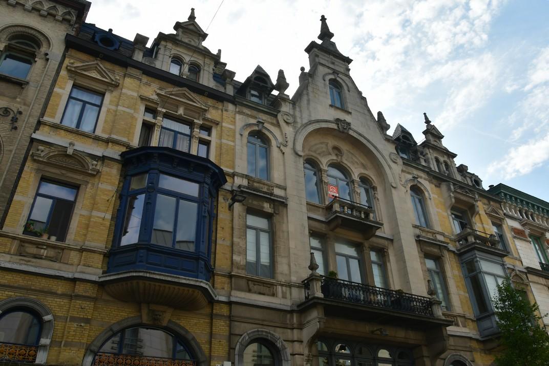 Cases senyorials del carrer de Belfort de Gant