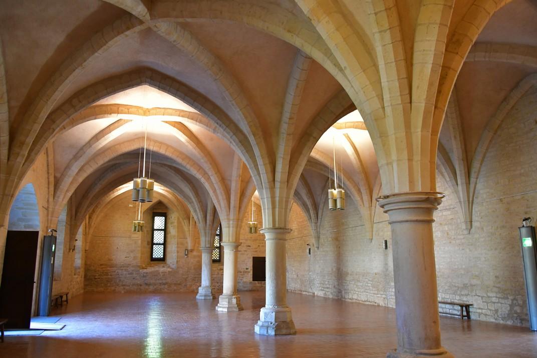 Celler de l'abadia de Noirlac