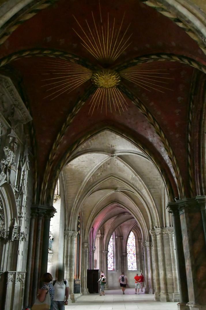Clau de volta davant de la Sagristia de la Catedral de Bourges