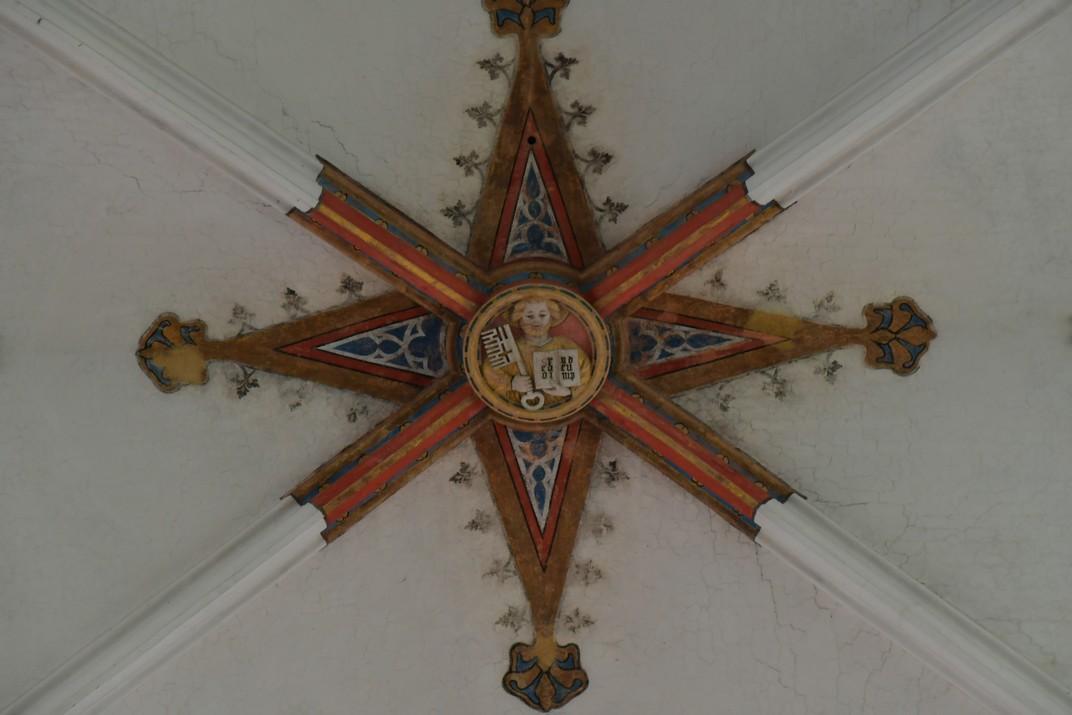 Clau de volta de la Catedral de Nostra Senyora d'Anvers