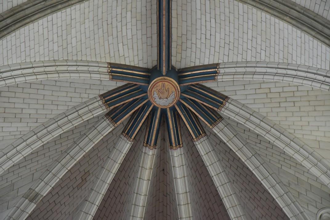 Clau de volta de l'Altar major de la Catedral d'Orleans