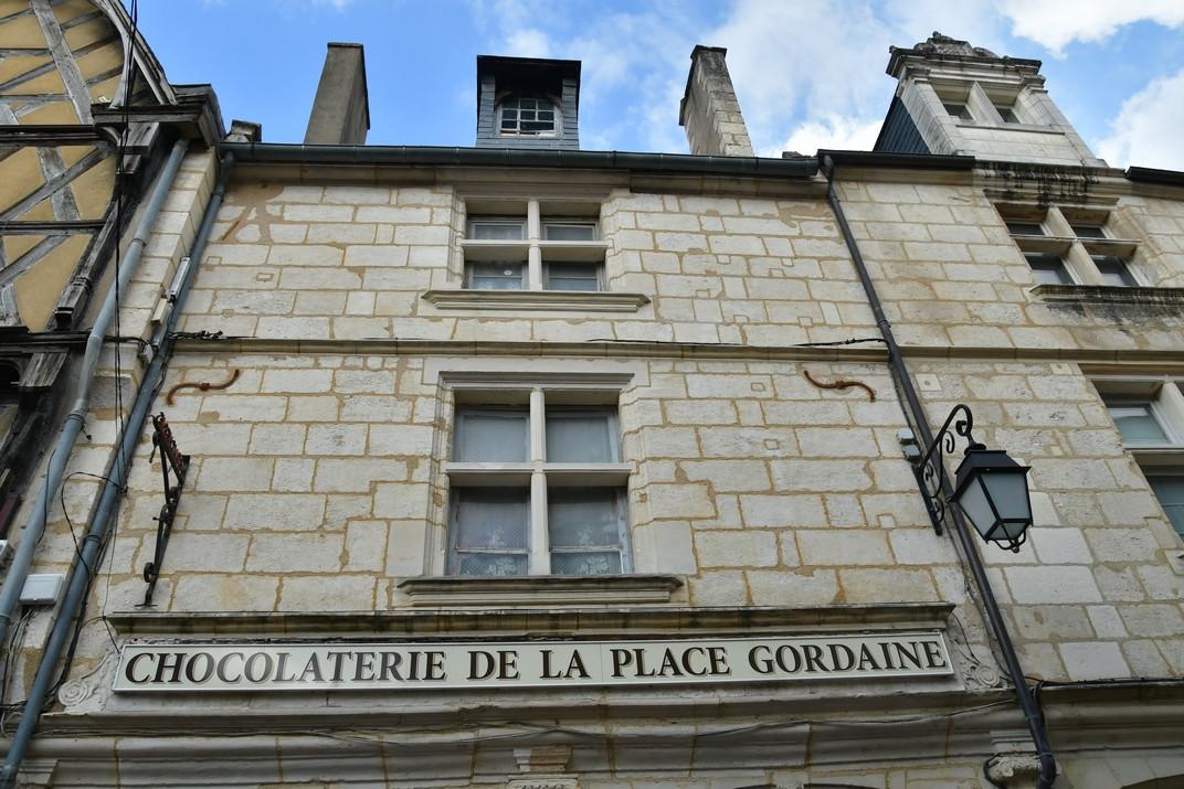 Comerços de la plaça Gordaine de Bourges