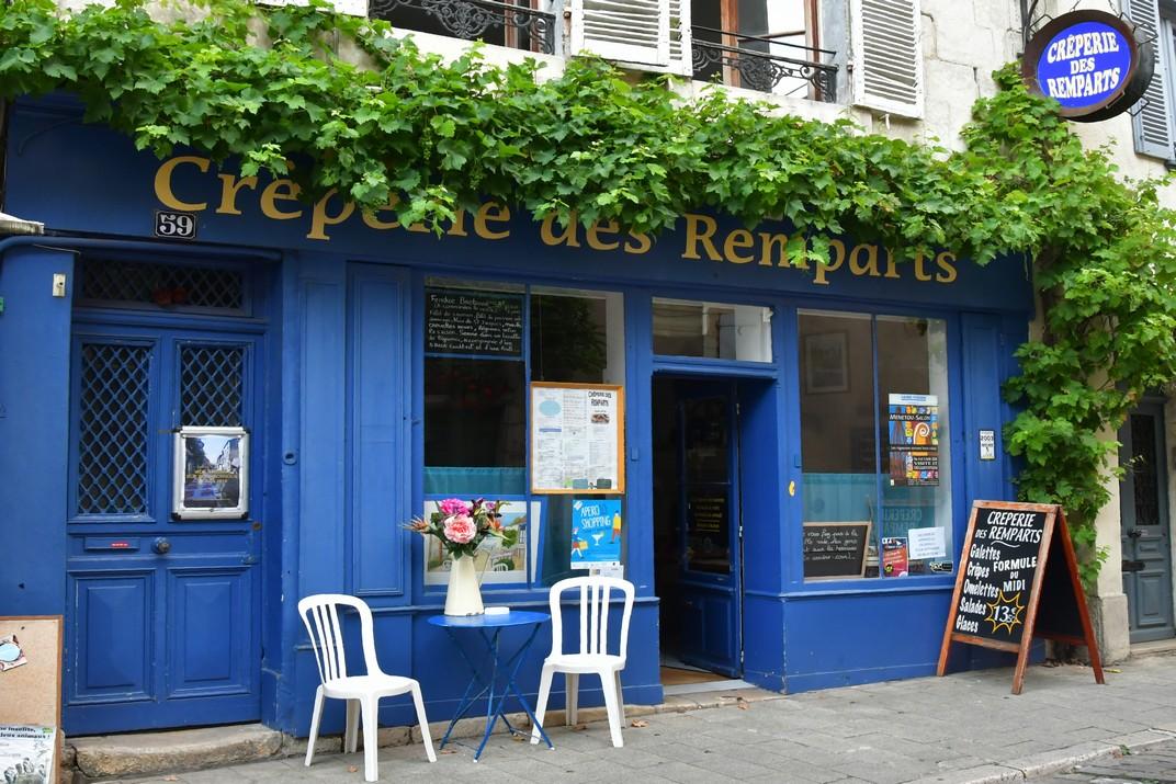 Comerços del carrer Bourbonnoux de Bourges