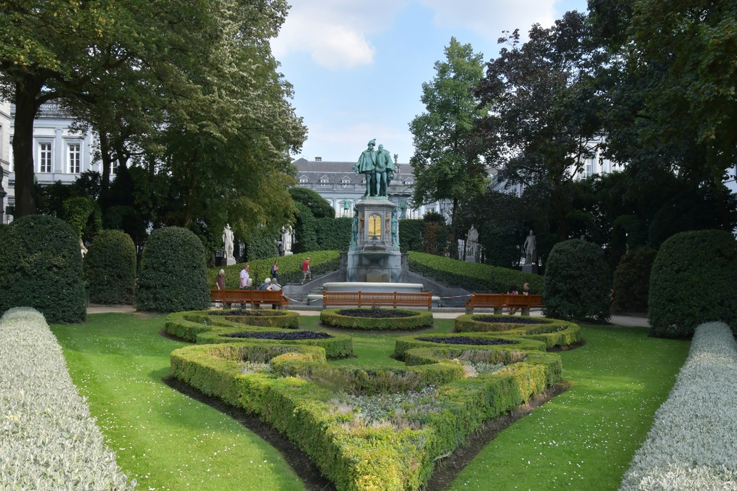 Comtes Egmont i Hornes de la plaça del Petit Sablon de Brussel·les