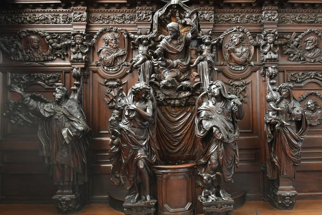 Confessionari barroc de l'església de Sant Pau d'Anvers