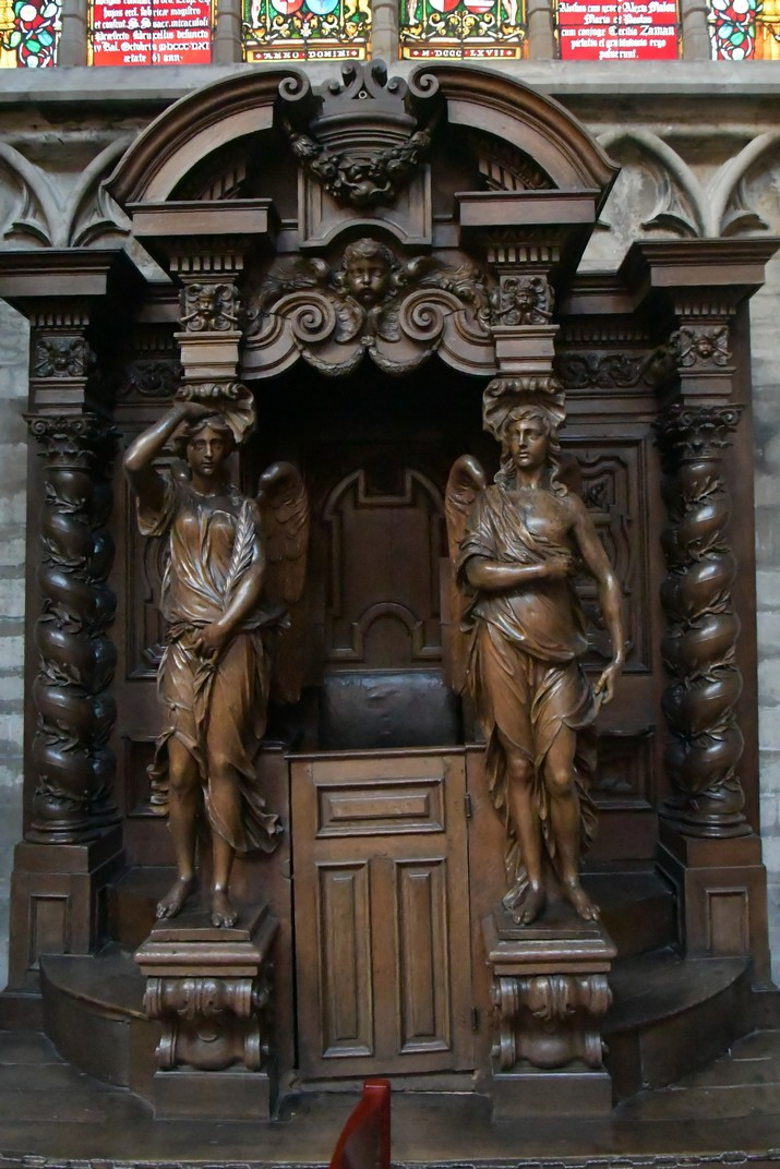 Confessionari de la Catedral de Brussel·les
