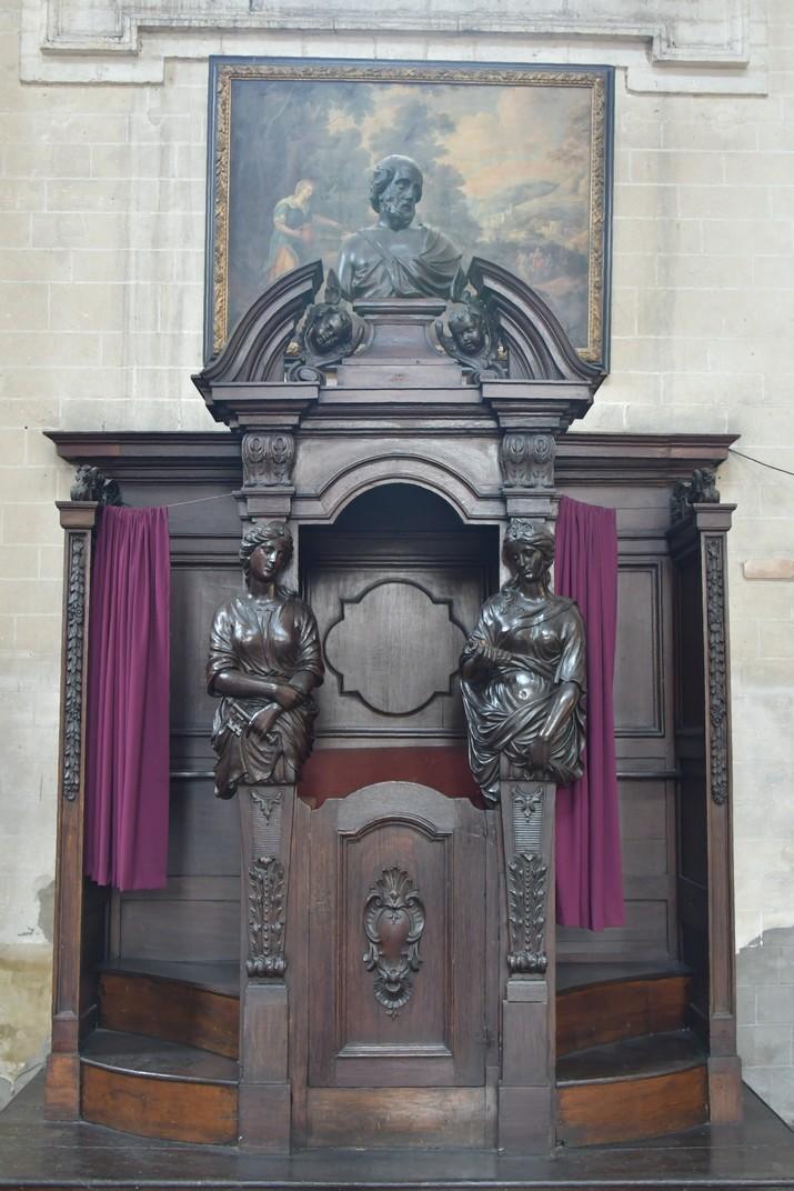 Confessionari de l'església de Joan Baptista del Beateri de Brussel·les