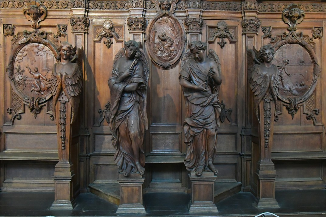 Confessionari de l'església de Sant Carles Borromeo d'Anvers