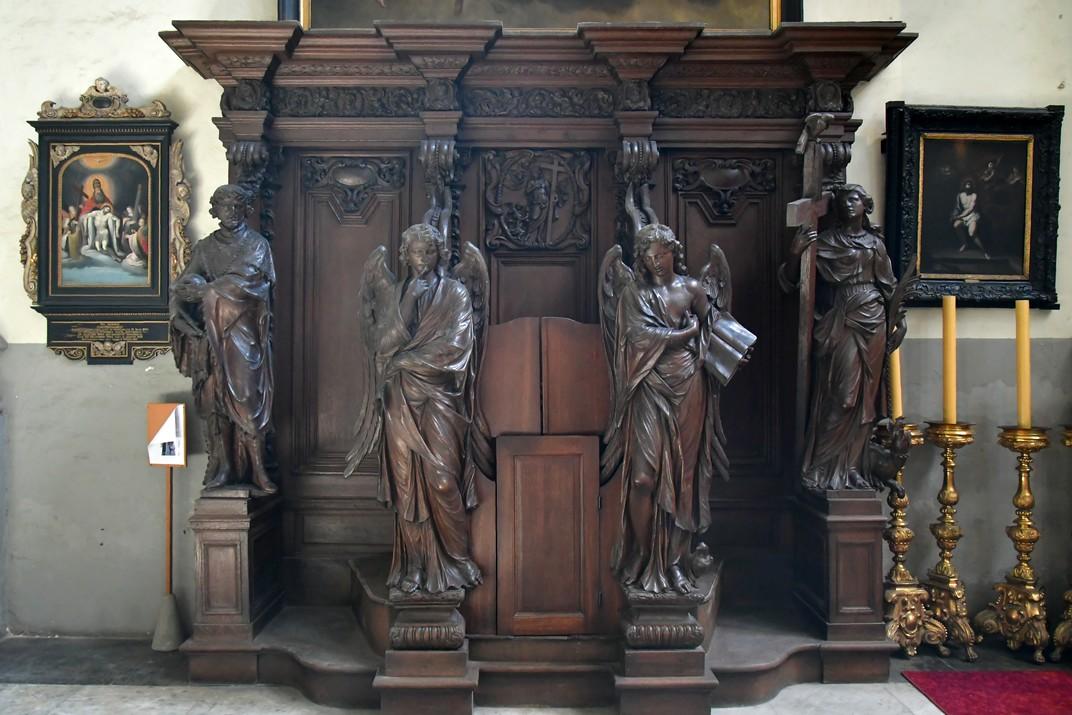 Confessionari de l'església de Sant Jaume d'Anvers