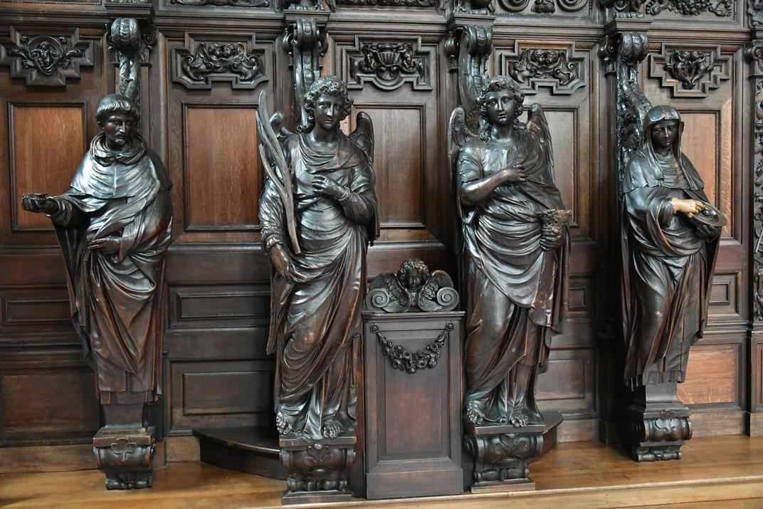 Confessionari de l'església de Sant Pau d'Anvers