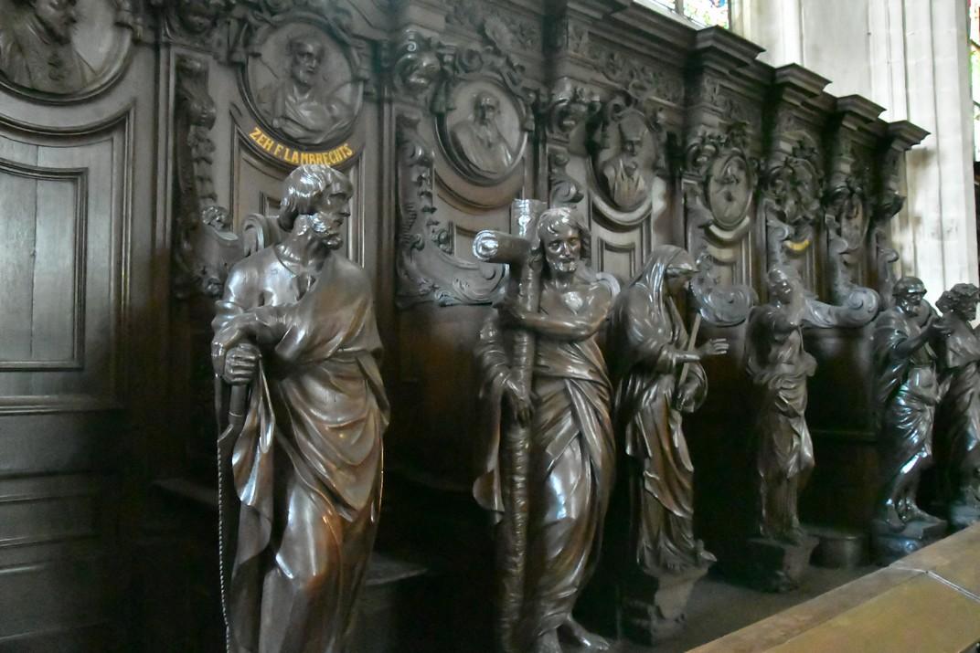 Confessionaris de la Catedral de Nostra Senyora d'Anvers