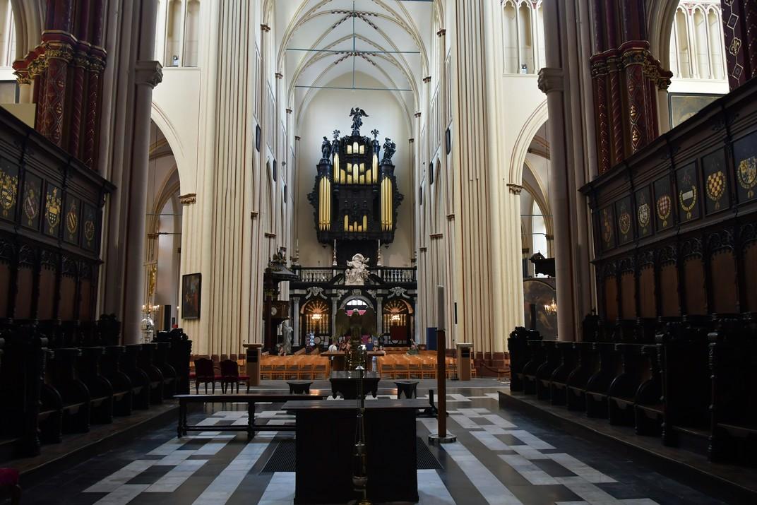 Cor de la Catedral de Sant Salvador de Bruges