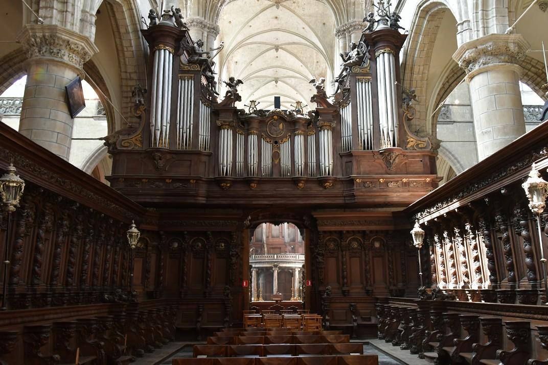 Cor de l'església de Sant Jaume d'Anvers