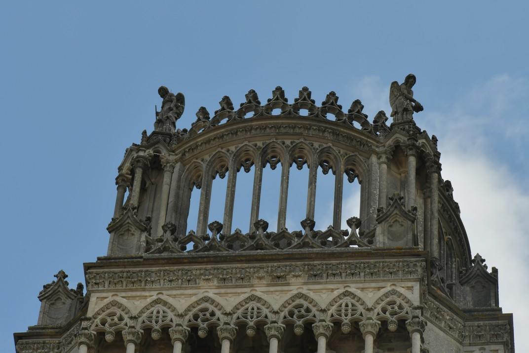 Corona de la Torre de la Catedral d'Orleans