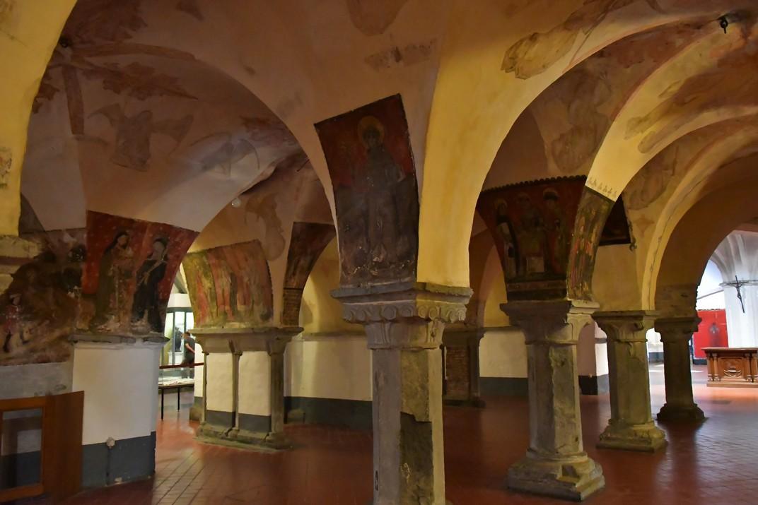 Cripta de la Catedral de Sant Bavó de Gant