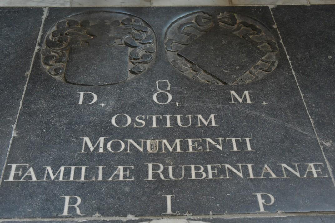 Cripta de Rubens de l'església de Sant Jaume d'Anvers