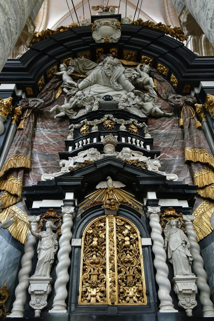 Déu Pare de l'església de Sant Nicolau de Gant