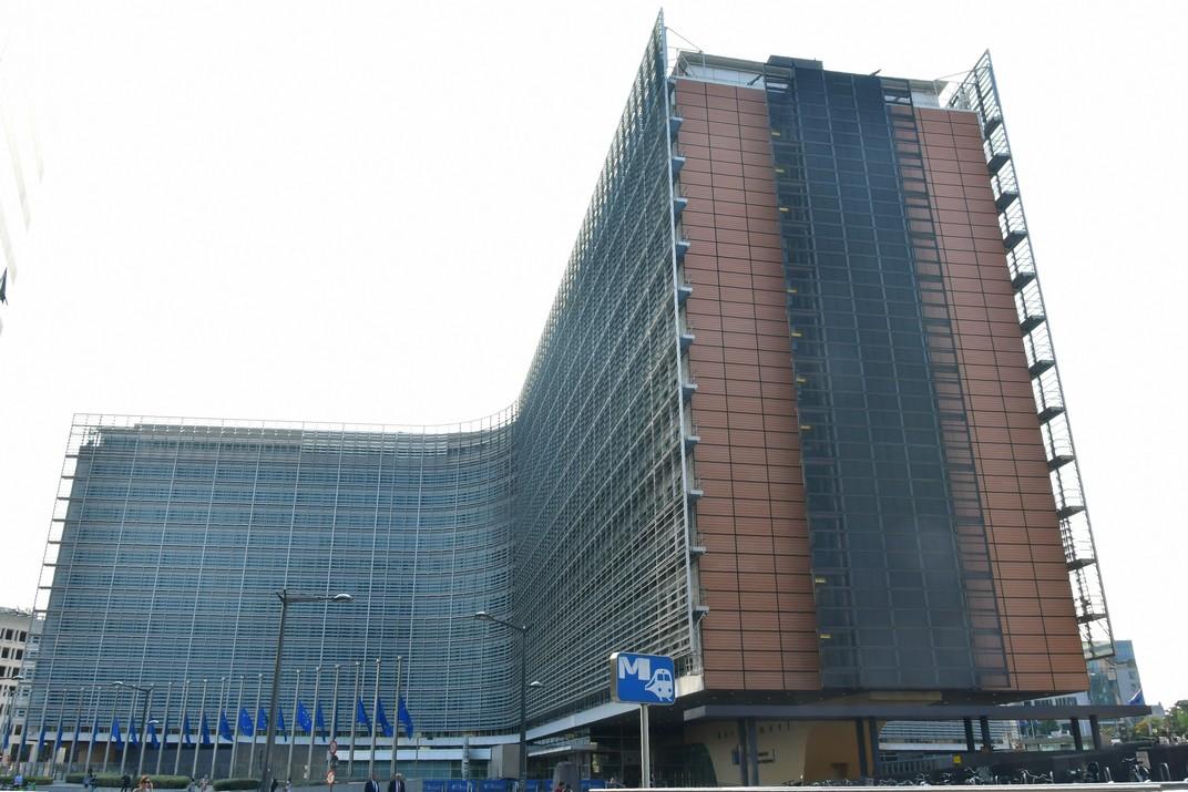 Edifici Berlaymont de la Comissió Europea de Brussel·les