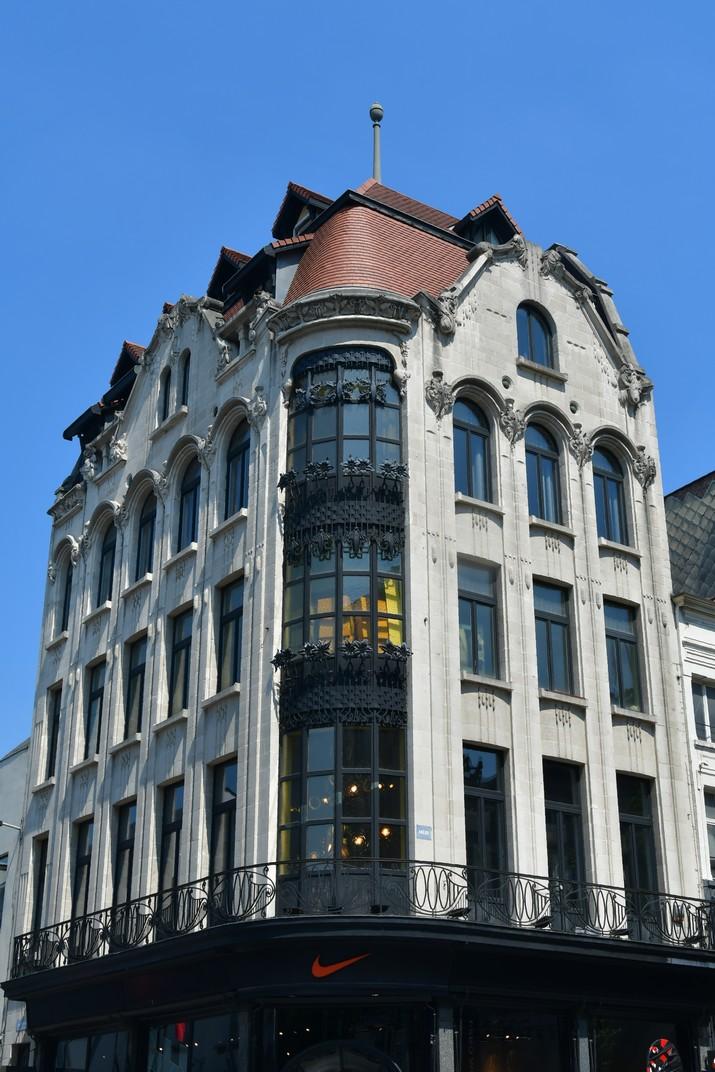 Edifici comercial d'Art Nouveau del carrer Meir d'Anvers