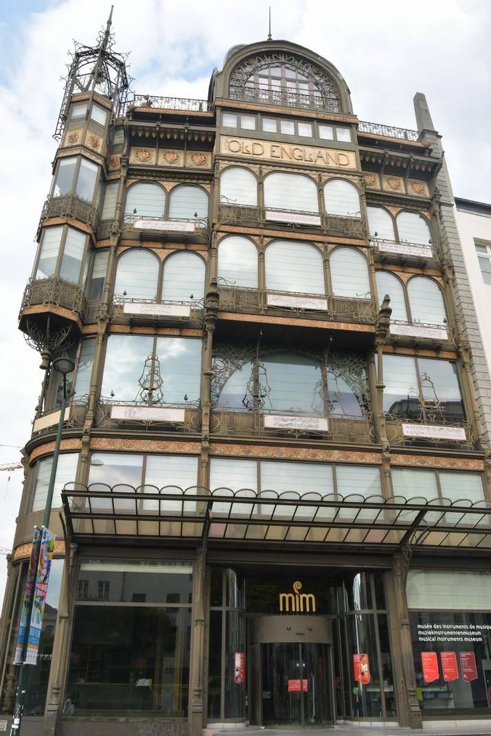 Edifici Old England del Mont de les Arts de Brussel·les