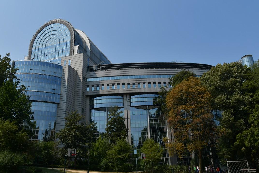 Edifici Spaak de l'Espai Leopold del Parlament Europeu de Brussel·les