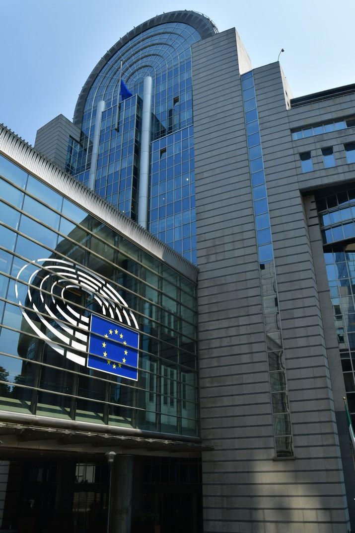 Edifici Spinelli de l'Espai Leopold del Parlament Europeu de Brussel·les