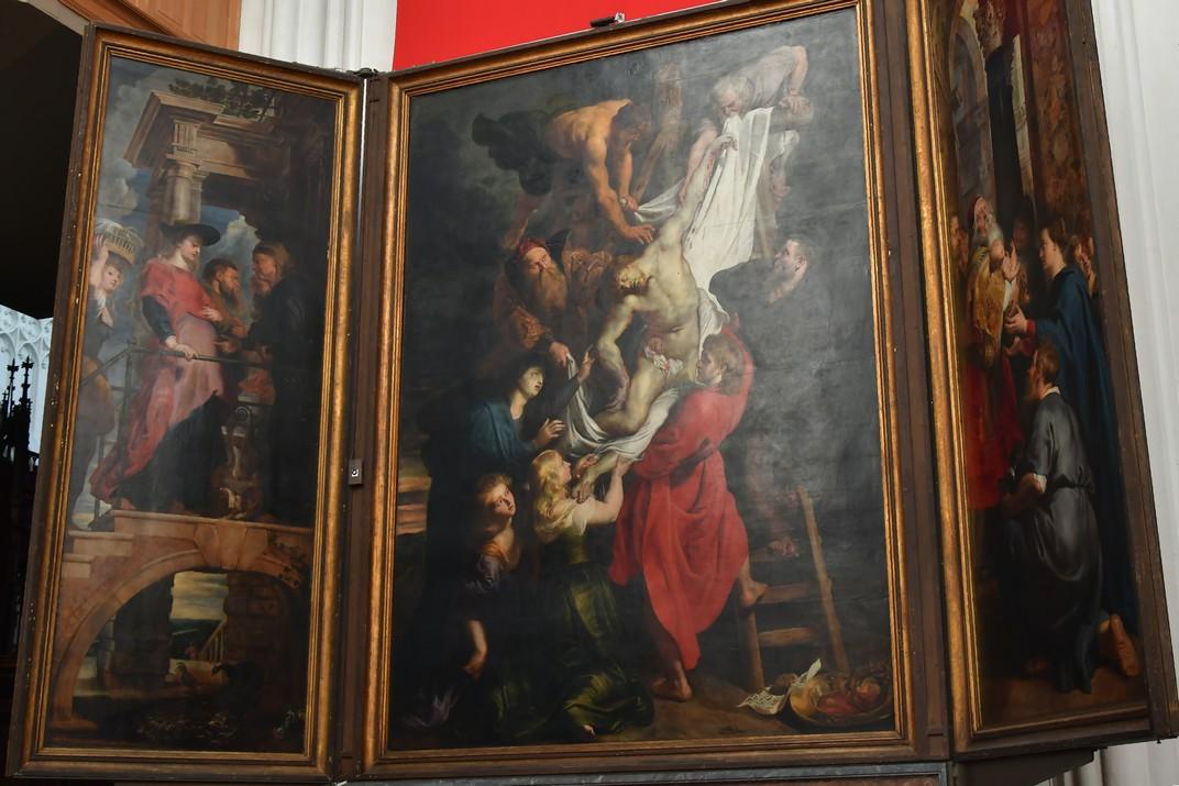 El descens de la Creu de Rubens de la Catedral de Nostra Senyora d'Anvers