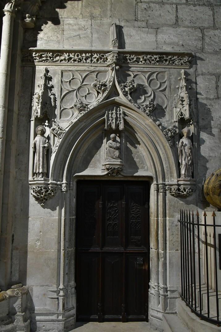 Entrada a la Cripta de la Catedral de Bourges
