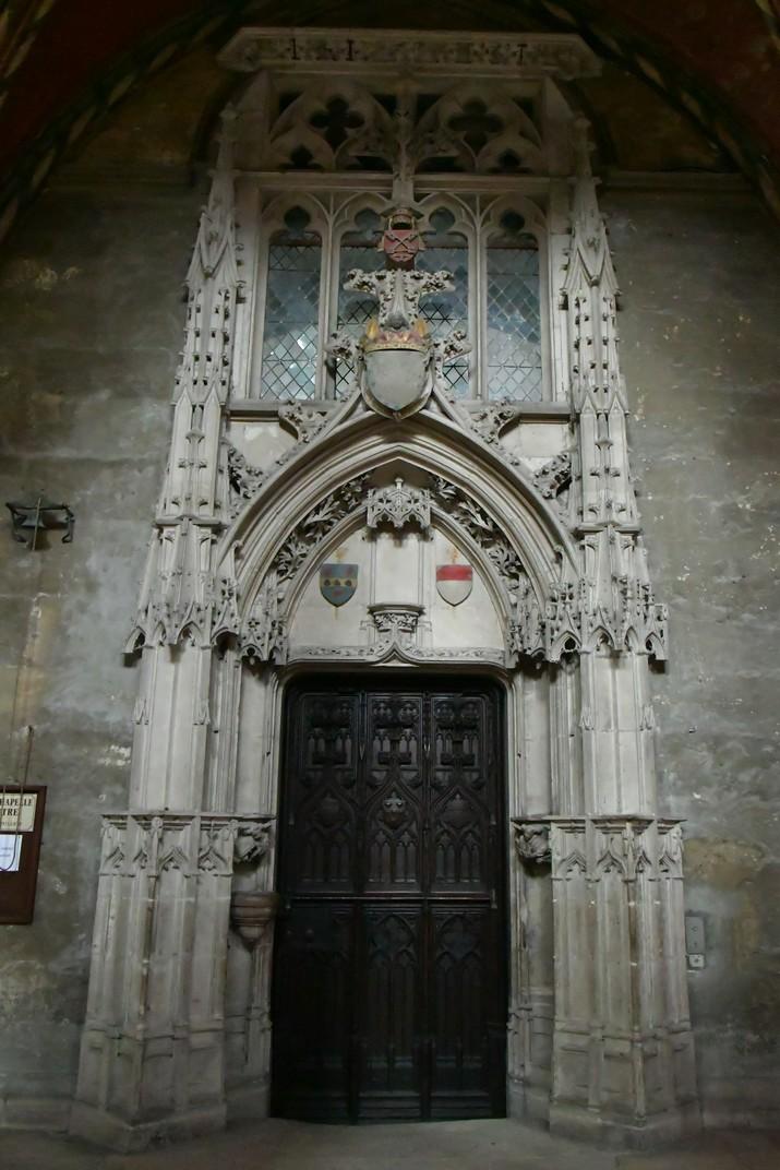 Entrada a la Sagristia de la Catedral de Bourges