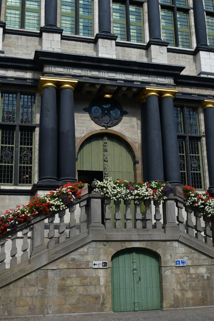 Entrada de l'Ajuntament de Gant