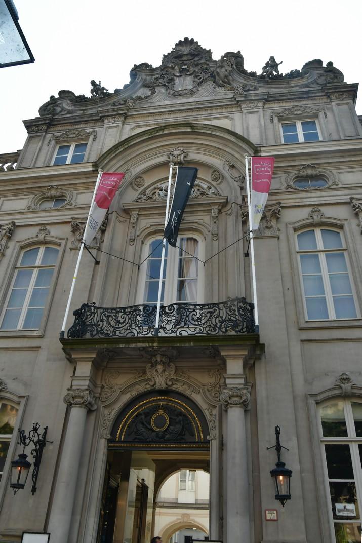 Entrada del Palau de Meir d'Anvers