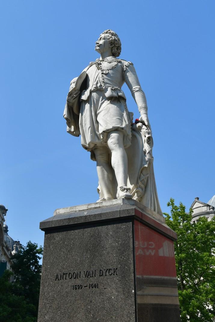 Escultura de Anton van Dyck d'Anvers