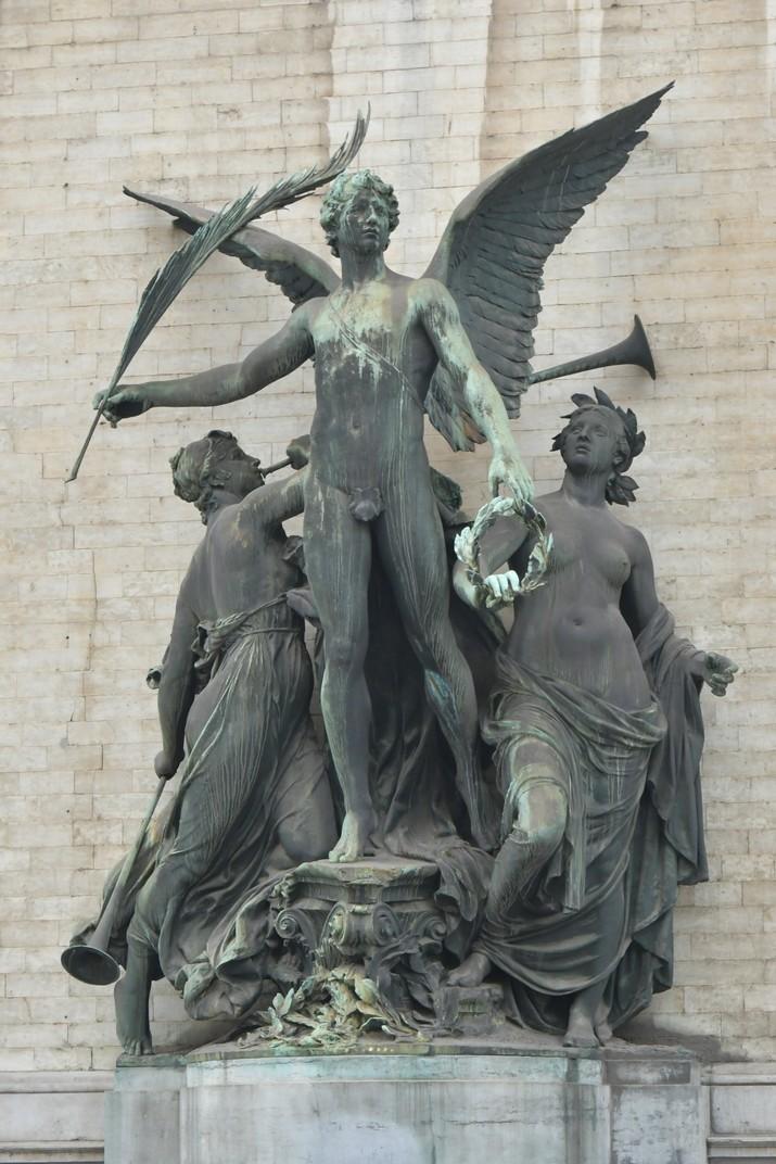 Escultura dels Museus de Belles Arts de Bèlgica de Brussel·les