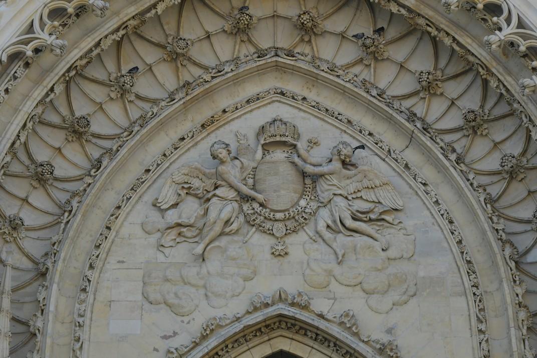 Escut Reial de la Catedral d'Orleans