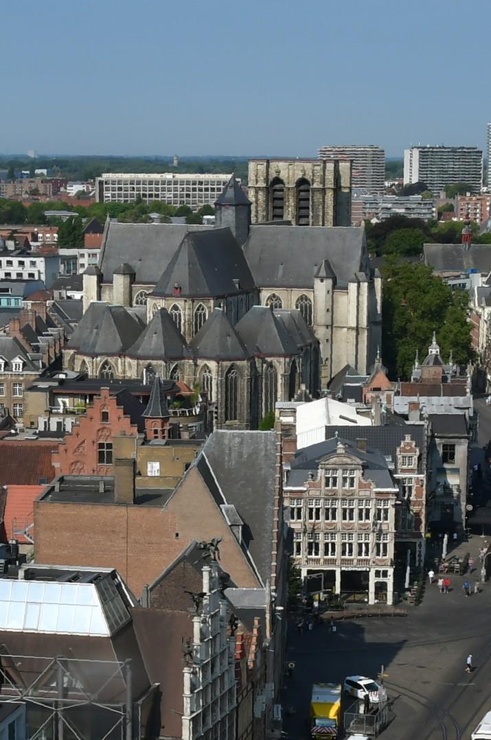 Església de Sant Miquel des del Campanar de Gant