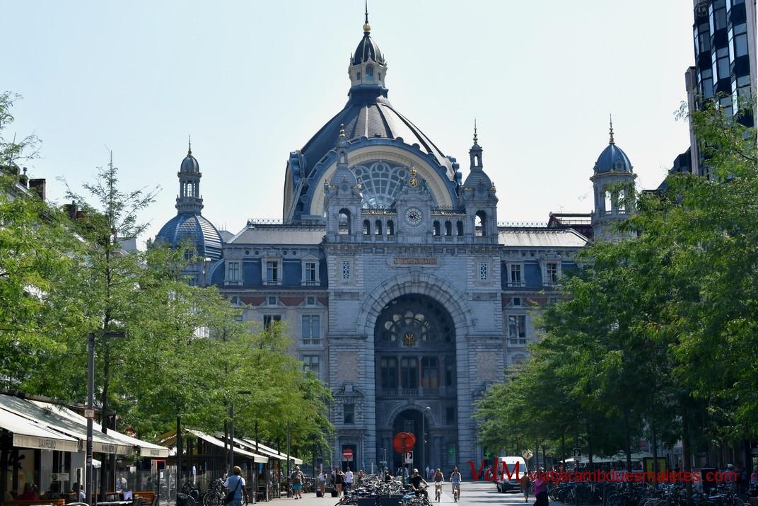 Estació Central Trens d'Anvers