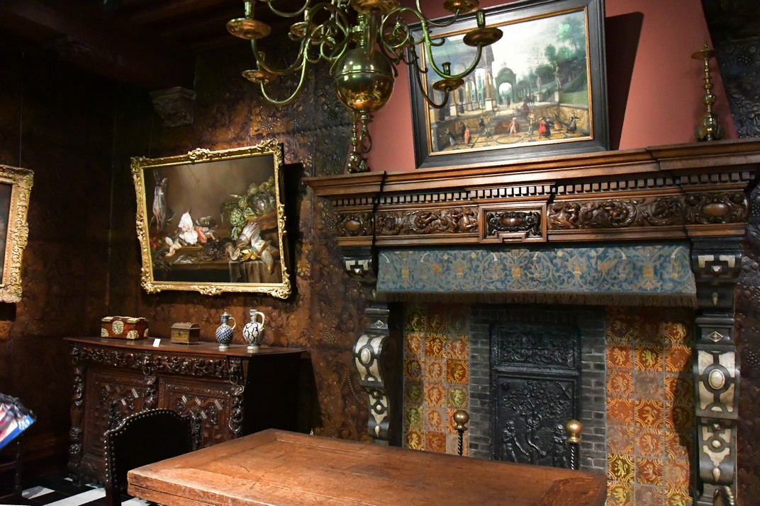 Estances privades de la Casa de Rubens d'Anvers