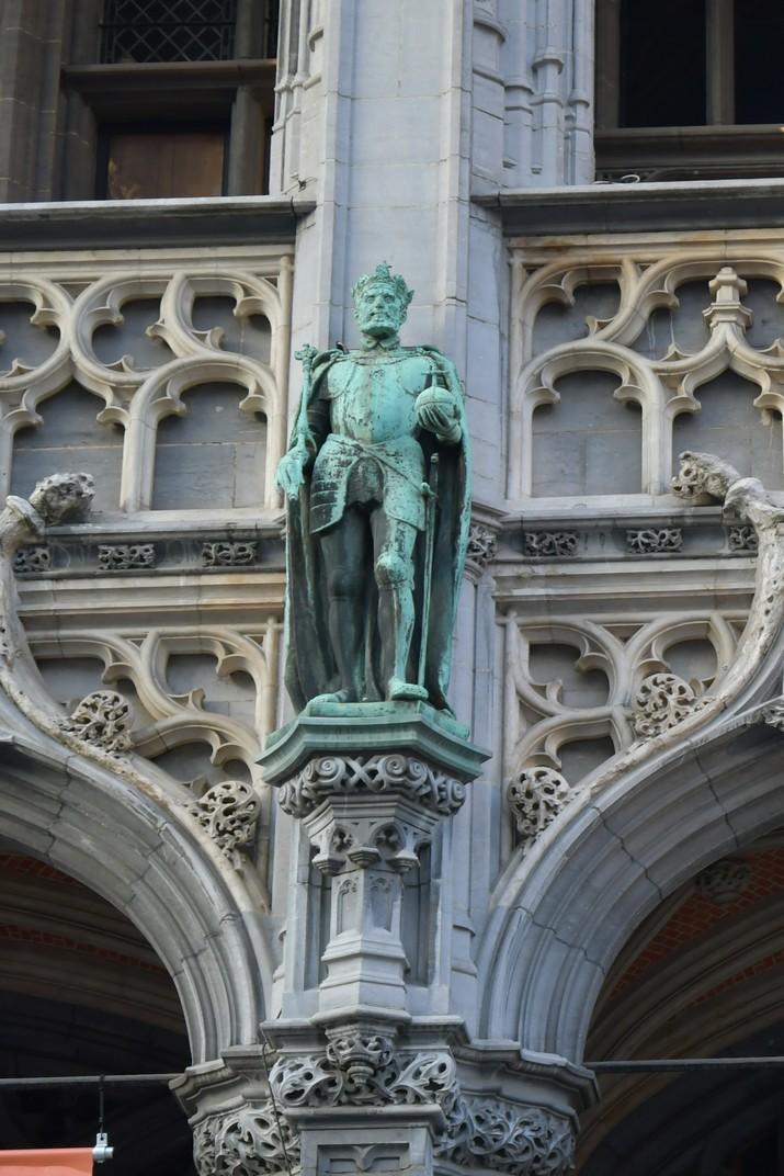 Estàtua de Carles V de la Gran Plaça de Brussel·les