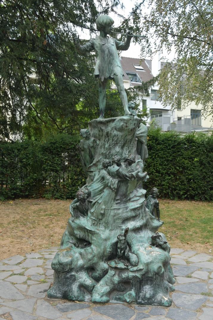 Estàtua de Peter Pan dels Jardins d'Egmont de Brussel·les