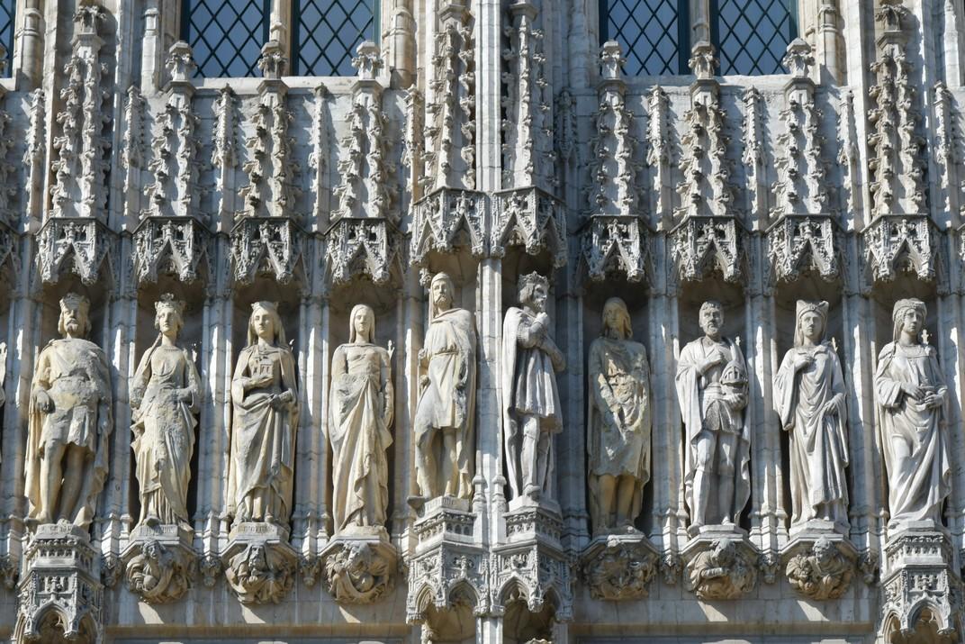 Estàtues de l'Ajuntament de Brussel·les