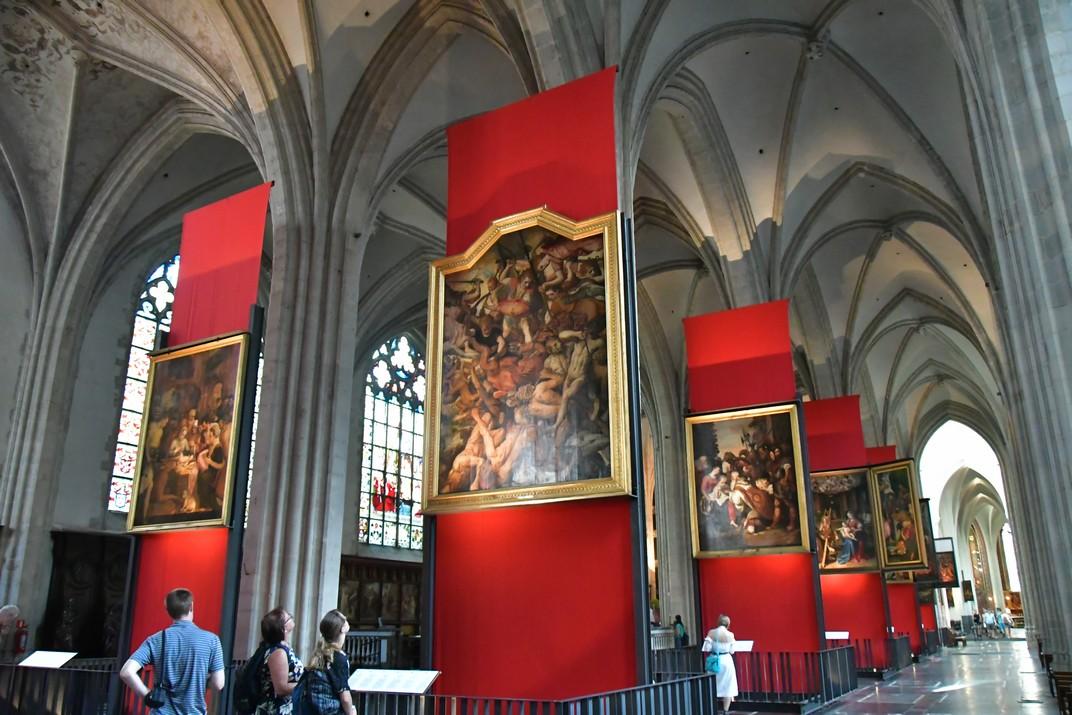 Exposicions de la Catedral de Nostra Senyora d'Anvers