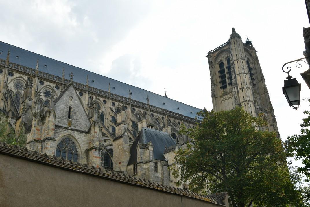Façana nord de la Catedral de Bourges