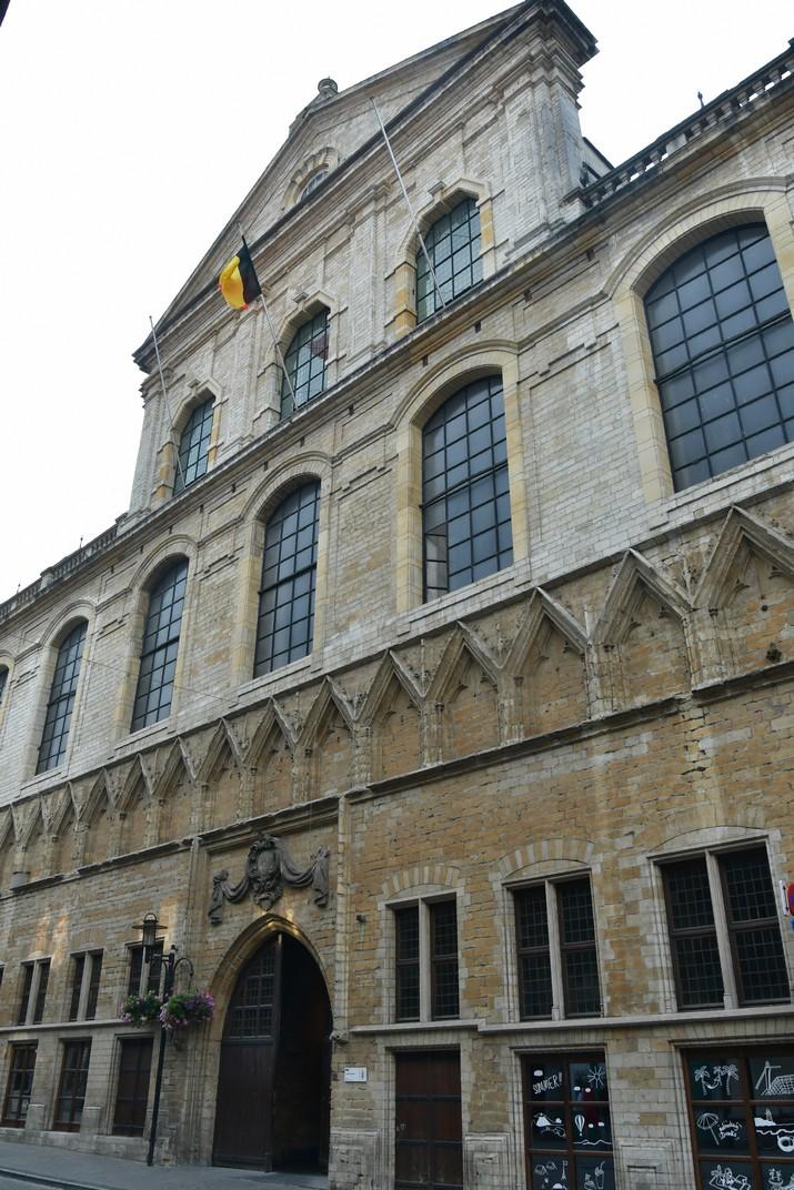 Façana principal del Saló de la Universitat de Lovaina