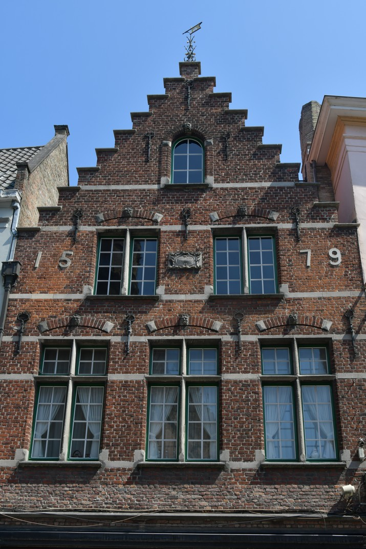 Façanes esglaonades de Bruges