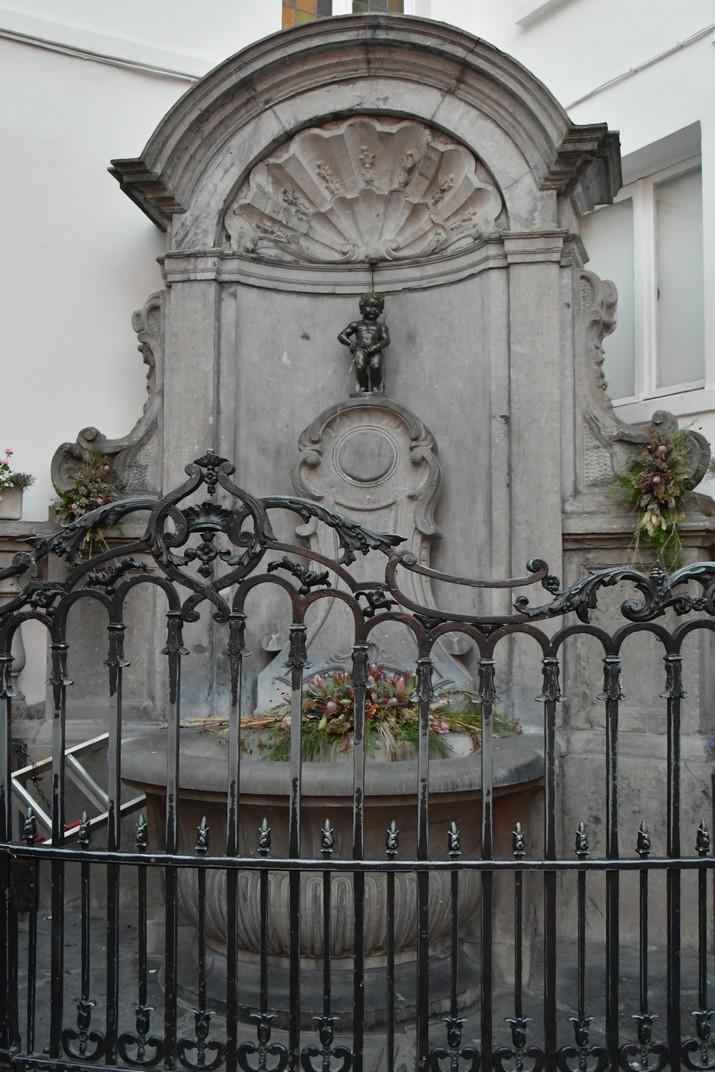 Font del Manneken Pis de Brussel·les