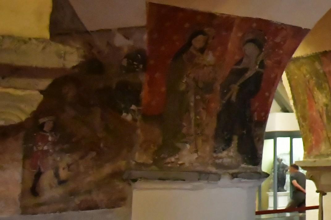 Frescos de la Cripta de la Catedral de Sant Bavó de Gant